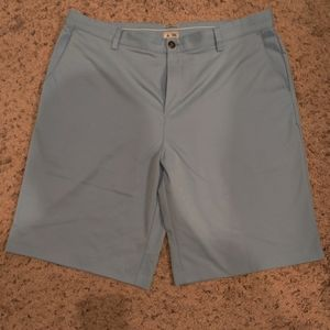 Adidas Golf Shorts Light Blue Size 38